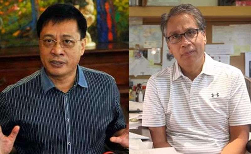 Daanbantayan town Mayor Vicente Loot and former senator Mar Roxas (SunStar file photos)