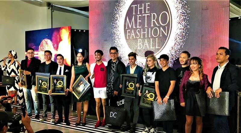 The Metro Fashion Ball 2018 designers. (Contributed photo)