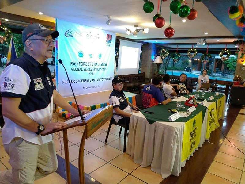 PAMPANGA. Robby Consunji, RFC Philippines representative, narrates how Filipino racers demonstrated guts, grit and determination to compete and complete the RFC Grand Finals. (Contributed Photo)