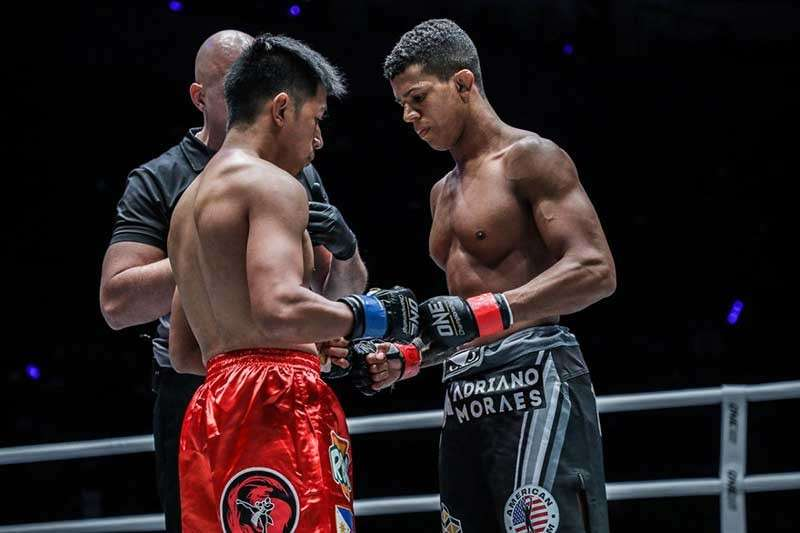 MANILA. Reigning ONE flyweight world champion Geje Eustaquio and former world champion Adriano Moraes for the third time as they headline One Championship's Hero's Ascent at the Mall Of Asia Arena on January 25. (ONE Photo)