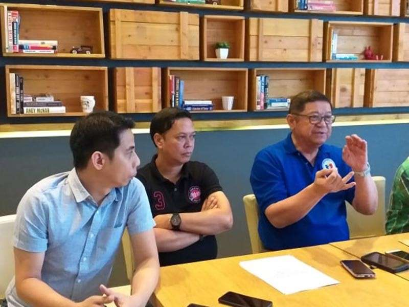 """DAVAO. Philippine Sports Commission (PSC) chairman William """"Butch"""" Ramirez bares the agency's milestones in 2018 and looks forward to better 2019 for both grassroots and elite sports during a yearend press conference held December 31, 2018 at Kuya J Restaurant, SM City Davao. (Marianne L. Saberon-Abalayan)"""