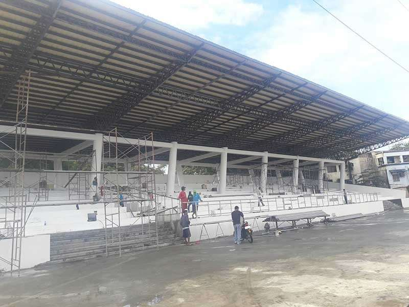 ILOILO. New Iloilo Freedom Grandstand situated at the Muelle Loney. (Contributed photo)