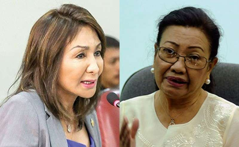 CEBU. Representative Gwen Garcia and Cebu Vice Governor Agnes Magpale. (SunStar file photos)