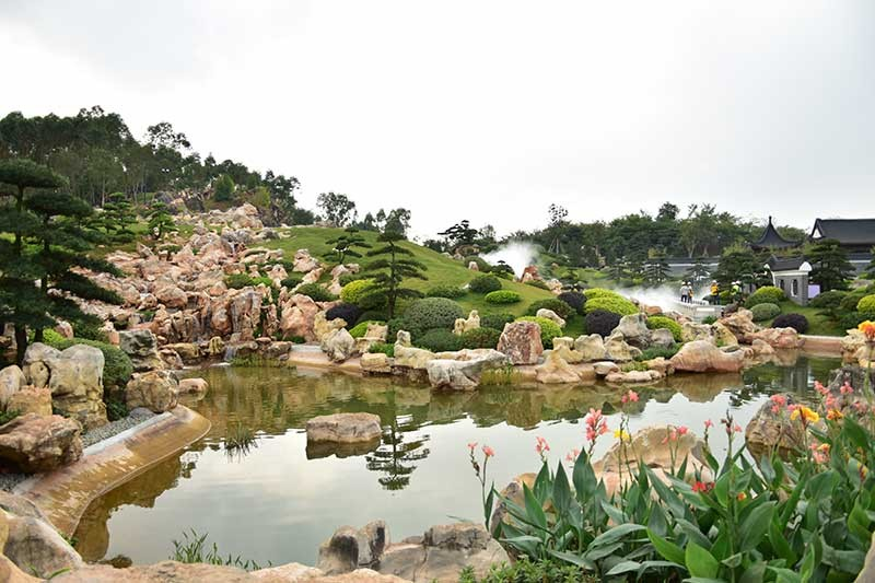CHINA. Garden expo in the City of Naning in China. (Contributed photo)