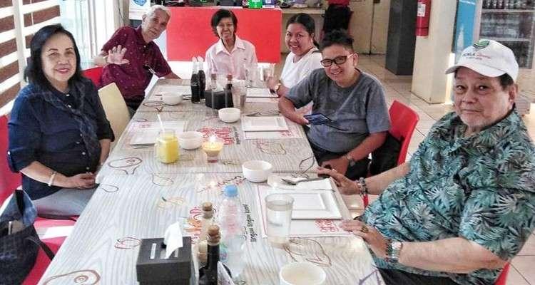 Family Christmas Lunch at Choobi Choobi restaurant.