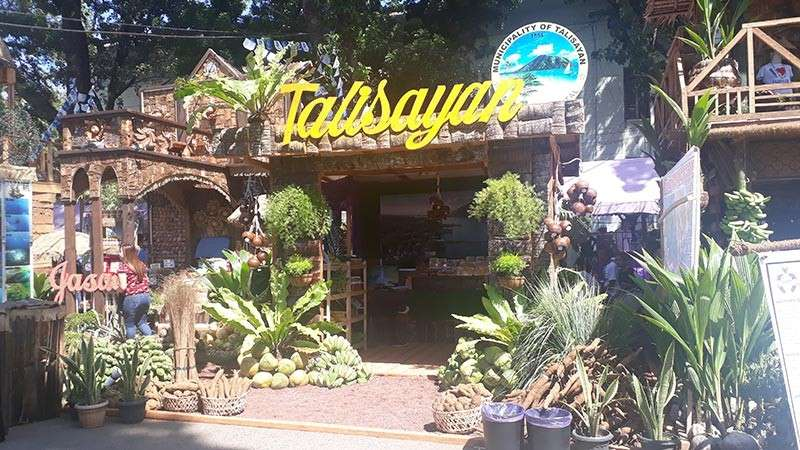 The booth of the municipality of Talisayan. (Jo Ann Sablad)