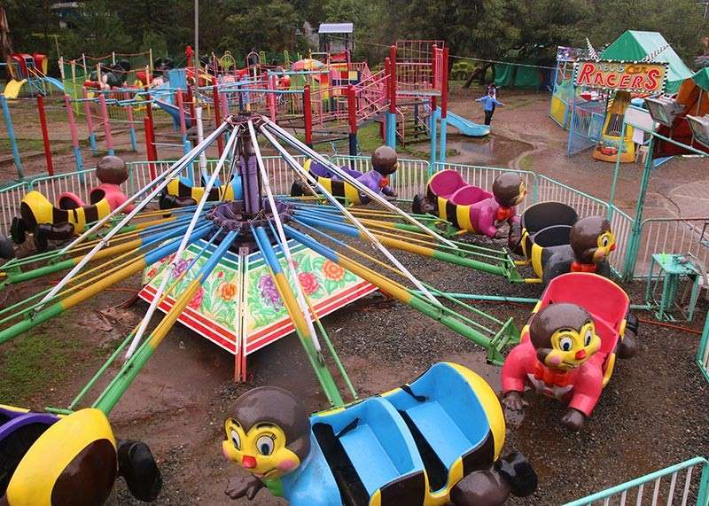 BAGUIO. A carnival is expected to rise anew at the children's playground in Burnham Park but Baguio City Mayor Mauricio Domogan said he will not sign the resolution passed by the City Council on December 27, 2018 authorizing the operation of the Ola carnival and amusement rides. (SunStar Baguio File Photo)