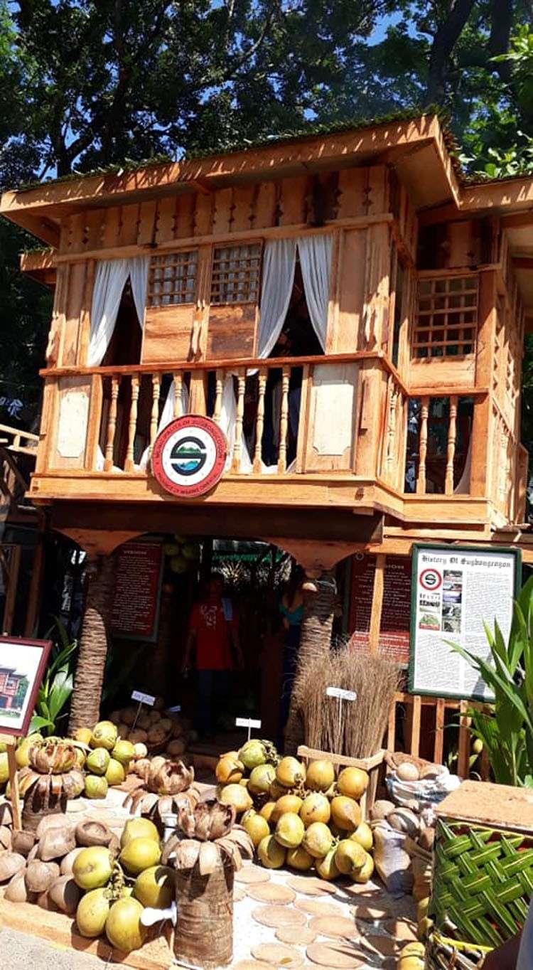 ORO. Ang pabonggahay nga mga Kuyamis booth nga nakadisplay sa Capitol Compound, sa Cagayan de Oro. (Hulagway gikan ni Stephanie V. Berganio)