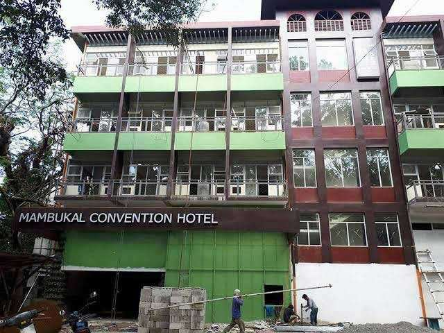NEGROS. A portion of the Mambukal Convention Hotel in Mambukal Mountain Resort in Murcia town, Negros Occidental, collapsed Tuesday morning, January 8, 2019. (Contributed photo)