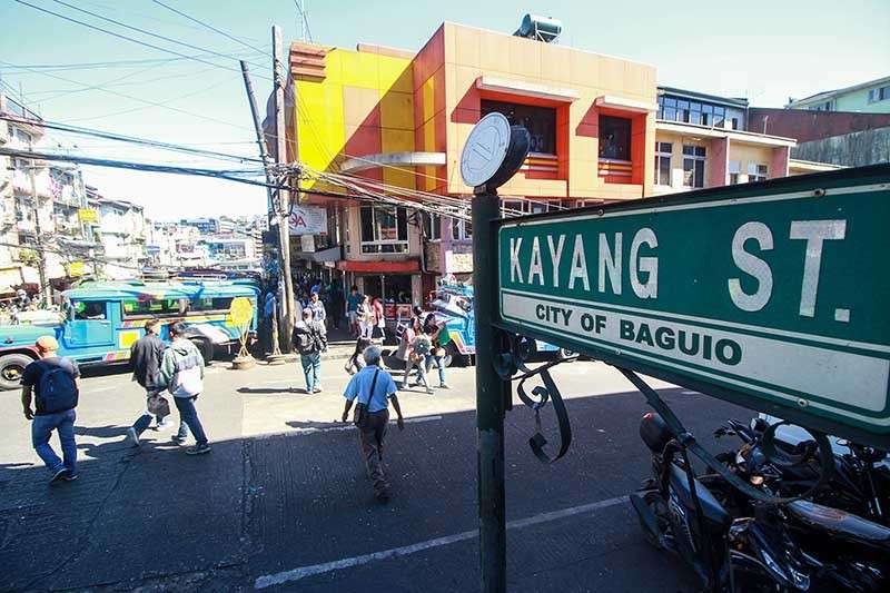 BAGUIO. The sought after night market will soon be transferred to Kayang Street in a bid to free the already congested Harrison Road. (Jean Nicole Cortes)