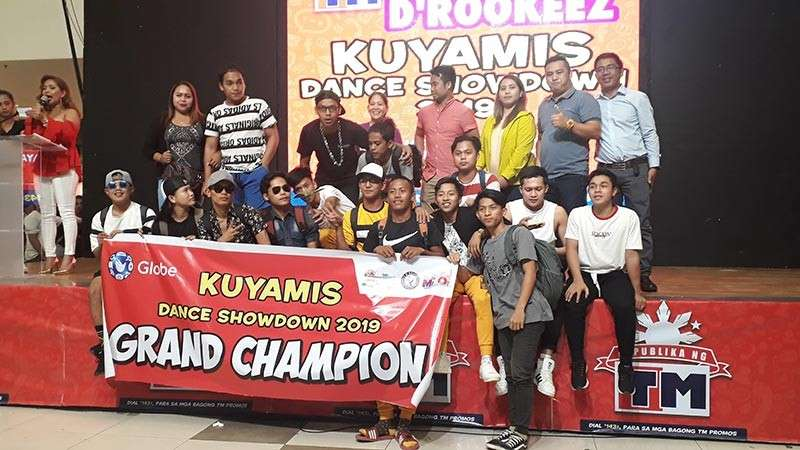 D'Rookeez from the municipality of Balingasag was declared the grand champion of the Kuyamis Festival 2019 Freestyle Dance Competition held last Tuesday, January 8, at the activity center of Centrio Ayala Mall. (Jo Ann Sablad)
