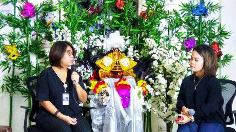 "CEBU. Cebu Provincial Anti-Drug Abuse Office Executive Director Carmen Remedios ""Ivy"" Durano (left) says that for this year, they are highlighting the participation of schools in the anti-illegal drug campaign. (Rona Joyce T. Fernandez)"