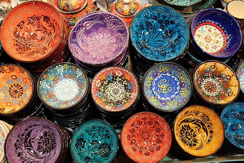 TURKEY. Indirim! Great finds at Istanbul's Grand Bazaar. (Photo by Janette Huang-Teves)