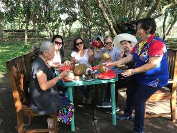 PANGASINAN. Maricar Dabao takes the ladies to Concepcion for a feast of fruits in season. (Betsy Gazo)