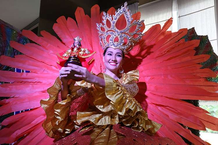 A Sinulog Queen will grace the Quest Hotel & Conference Center lobby.