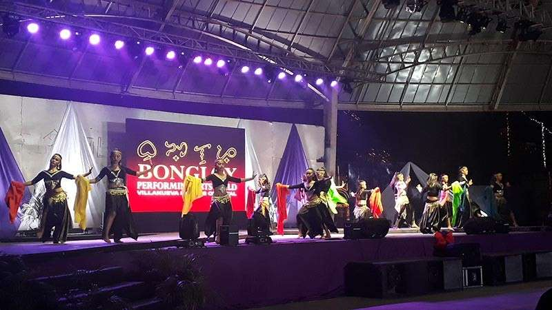 CAGAYAN DE ORO. The Bongloy Performers Guild of the municipality of Misamis Oriental performed various dances during the second night of the Kuyamis Festival Cultural Presentation on January 8 at the Tagoloan Dome. (Jo Ann Sablad)