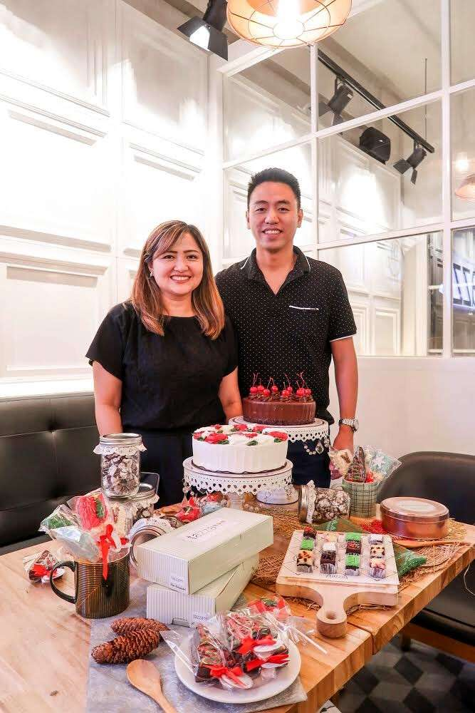 LIFE IS SWEET. For spouses Jessica and Dexter Chua, pouring their life's savings into their business was a risk worth taking. Tazza Cafe and Patisserie now has two branches. (Contributed foto)