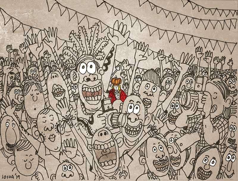 Editorial cartoon by Josua S. Cabrera