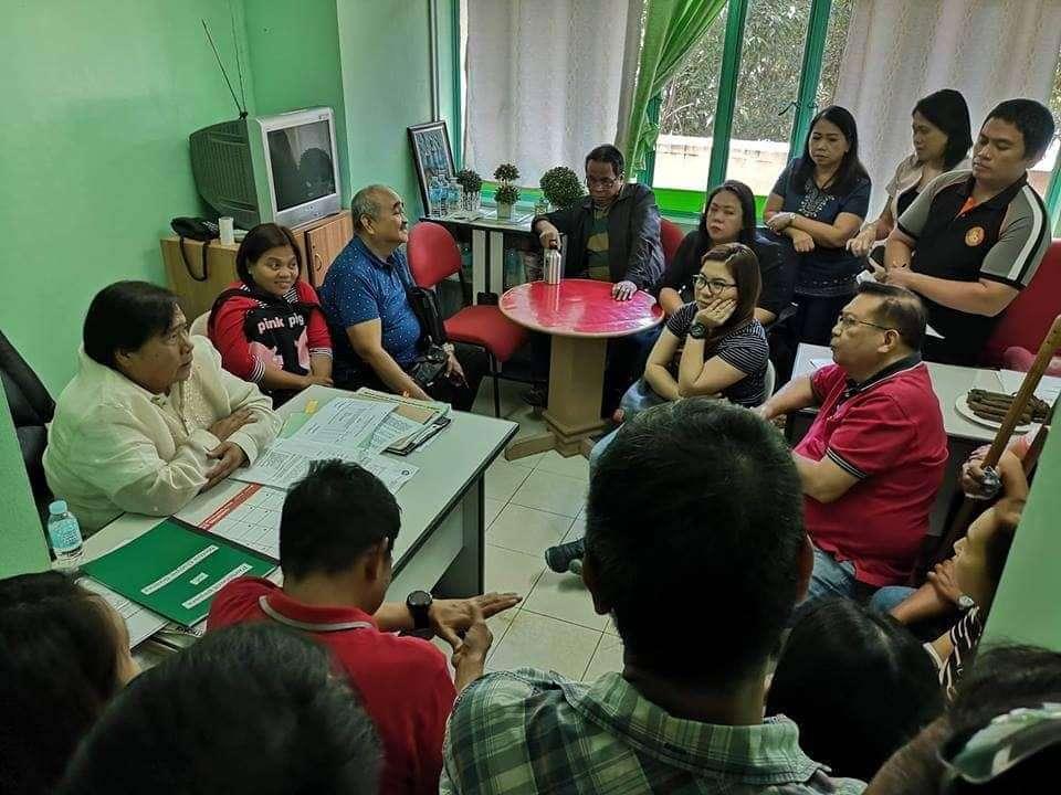 DAVAO. Councilor Conrado Baluran during an interview. (Photo by Lyka Casamayor)