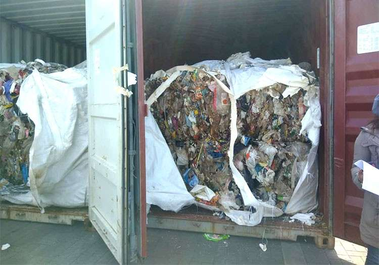 CAGAYAN DE ORO. About  1,400 tons of garbage shipment was sent back to South Korea on January 13, 2019. (SunStar Cagayan de Oro)