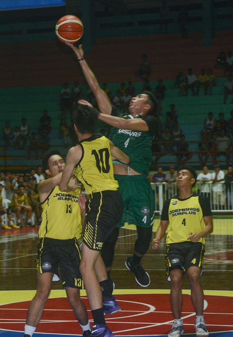 GOOD LUCK, SUERTE. Cesafi MVP Rey Suerte and nine other former Cebu-based players are a step closer to their PBA dreams. (SunStar File Photo)