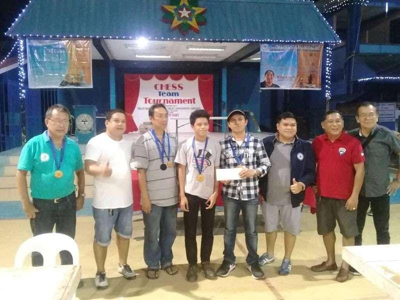 "CAGAYAN DE ORO. Team Kenkei of Canino, Calido and Maestrado bucks great odds to rule 2019 Tablon ""Tatluhan"" chess team tourney. (Contributed Photo)"