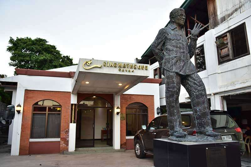 DAVAO. The kiosk is located inside Cinematheque Davao, Palma Gil Street, Davao City. (Photo by Macky Lim)