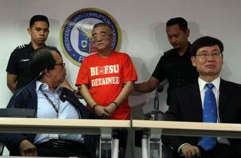 MANILA. Chinese fugitive Xie Haojie was presented to media on Wednesday, January 16, 2019, after he was arrested in an operation coordinated with Chinese authorities. He was turned over to China. (Al Padilla/SunStar Philippines)