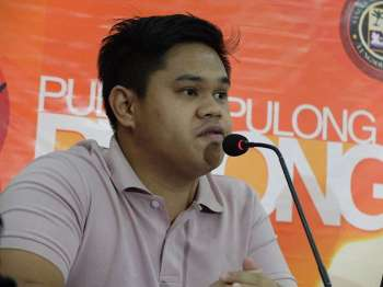Davao City Councilor and Sangguniang Kabataan (SK) President Jafaar Marohomsalic (Photo by Macky Lim)
