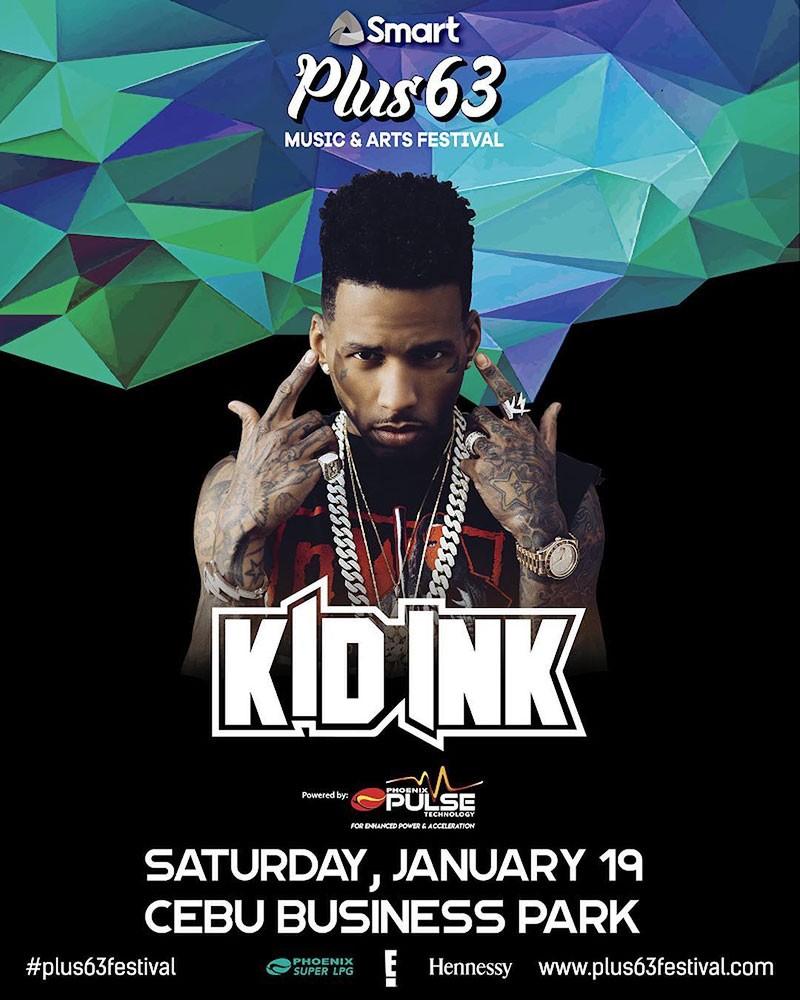 Plus63 Music and Arts Festival(Smart), Cebu Business Park, Enero 19, 7 p.m.