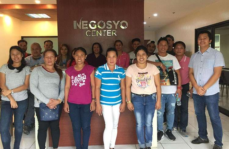 BACOLOD. Department of Trade and Industry-Negros Occidental personnel with the participants of the entrepreneurship and business planning seminar held at Negros First Negosyo Center in Bacolod City on Thursday, January 17.(Contributed photo)