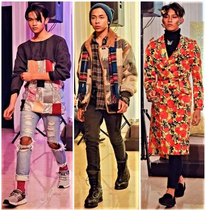 BAGUIO. Designs of Jan Paul Martinez, Aya Styling Studio, and Andrew Visaya. (Contributed photo)