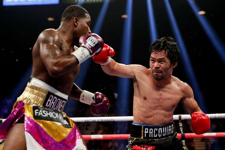 Pacquiao beats Broner, defends WBA belt