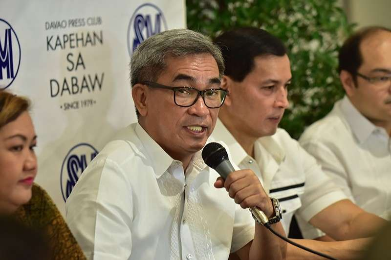 Arturo Milan, Davao City Chamber of Commerce, Inc. president. (Photo by Macky Lim)