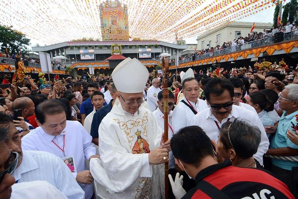 Cebu Archbishop Jose Palma