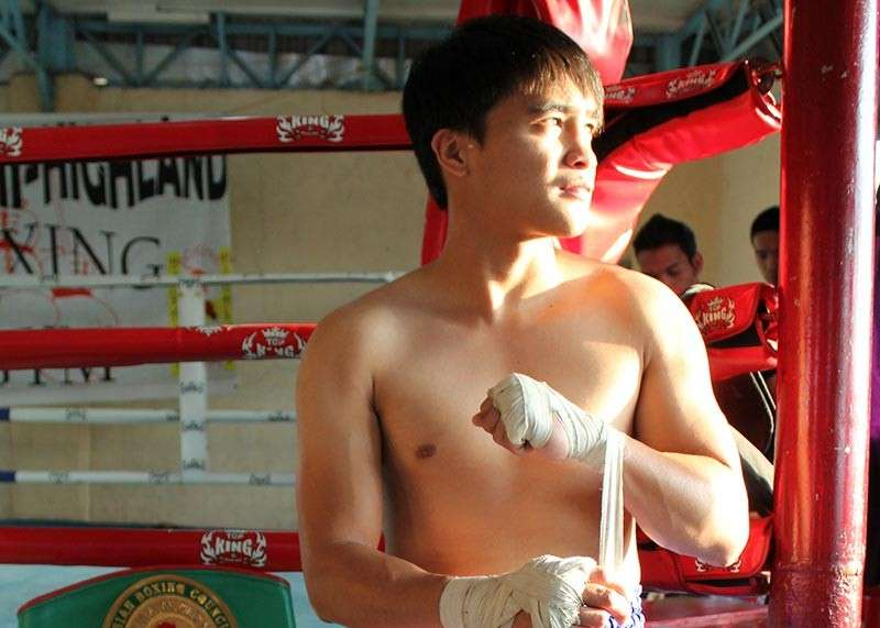 BAGUIO. Alvin Tam has rejuvenated his boxing career after scoring back to back knockouts on his fight in Canada. (SunStar Baguio photo)