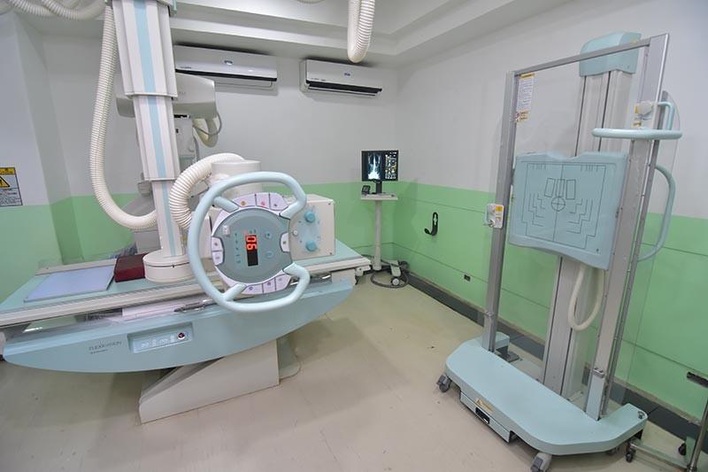 Modern digital x-ray.(Macky Lim)