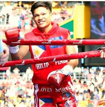 DAVAO. International Boxing Federation (IBF) world superflyweight champion Jerwin Ancajas is the guest speaker of the Davraa Meet 2019 opening ceremonies on January 27. Last year's guest was Senator Manny Pacquiao. (Jerwin Ancajas Facebook)