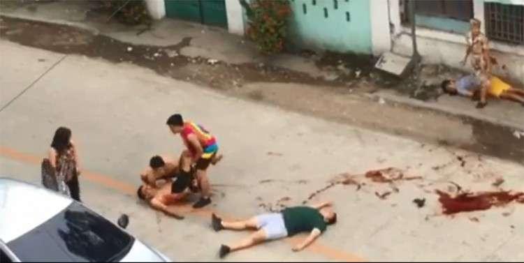CEBU. Tulo ka kinabuhi ang nakalas human sa pinusilay nga nahitabo Lunes, Enero 21.