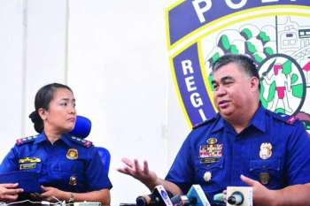 Cebu City Police Office (CCPO) Director Royina Garma and PRO-Central Visayas Director Gen. Debold Sinas. (SunStar file)