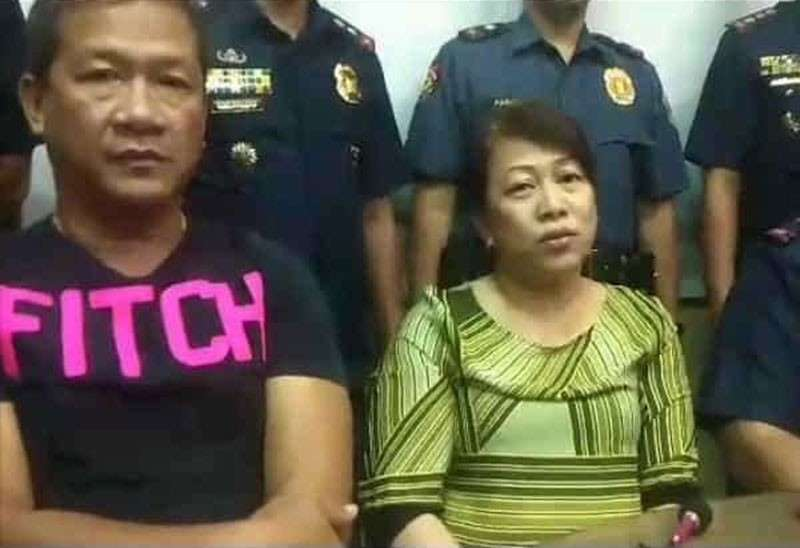CEBU. San Fernando Mayor Lakambini Reluya and her husband Ricardo Jr. (SunStar file photo)
