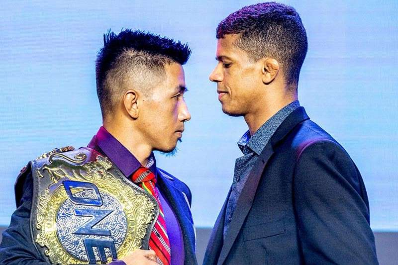 BAGUIO. Six months after their second encounter, reigning flyweight world champion Geje Eustaquio face off with former world titlist Adriano Moraes in the main event of ONE: Heroes Ascent at the Mall of Asia Arena on Friday, January 25. (ONE Championship photo)