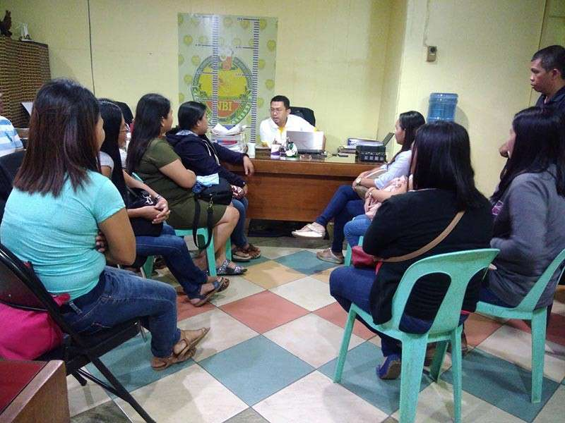 Some 11 complainants, mostly teachers from one of the towns in Misamis Oriental have sought assistance from the NBI-Northern Mindanao after they were allegedly victimized by an an investment scheme. (Alwen Saliring)