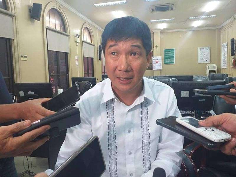 BACOLOD. Third District Board Member Frederick Ko, chairman of the PB committee on energy. (Erwin Nicavera)
