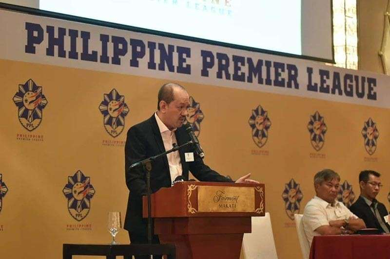 FAN-FRIENDLY. Philippine Premier League commissioner Bernie Sumayao said 11 teams have expressed interest but they will limit the first season to just eight. (Contributed photo)