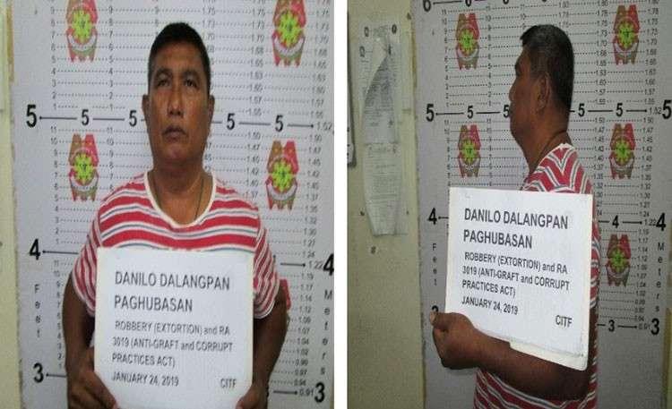 MANILA. Mugshot of Senior Police Officer 4 Danilo Paghubasan. (Courtesy of PNP-CITF)