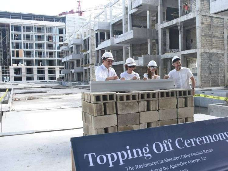 CEBU. The Residences at Sheraton Cebu Mactan Resort are already leased out.The units will be turned over to buyers by 2020. (SunStar photo/Allan Cuizon)