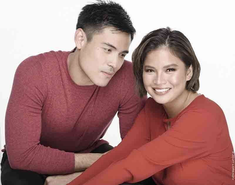 Xian Lim and Louise delos Reyes