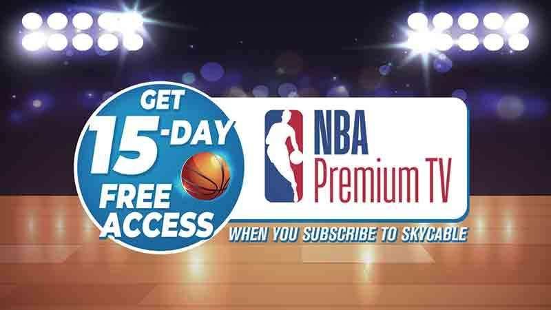 SKY brings back NBA Premium TV with promos - SUNSTAR