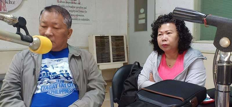 BACOLOD. Bacolod City Water District chair Lorendo Dilag and general manager Juliana Carbon. (Teresa Ellera)